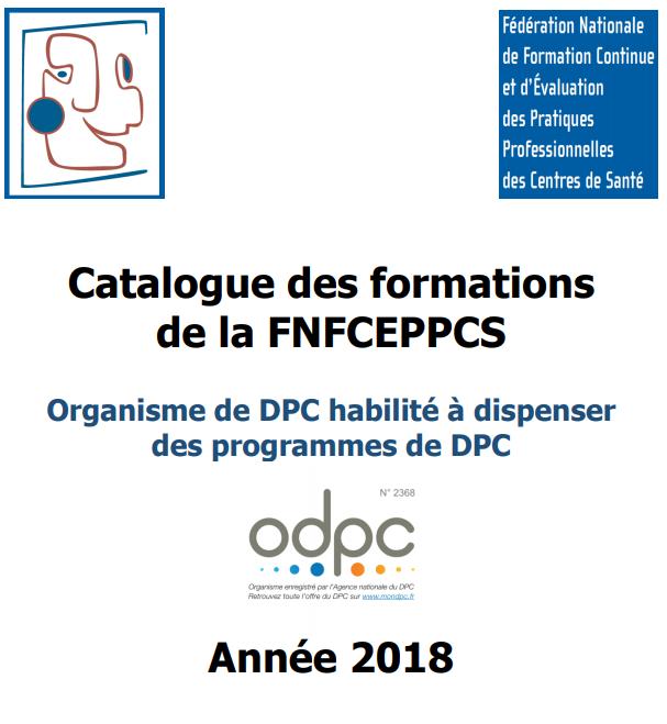 Le catalogue 2018 des formations des centres de santé est paru ! Consultez le et inscrivez vous sans tarder !